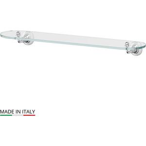 Полка стеклянная 60 см 3SC Stilmar хром (STI 015) цена 2017