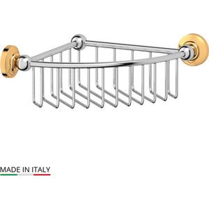 Полочка-решетка угловая 23 см 3SC Stilmar хром/золото (STI 108)