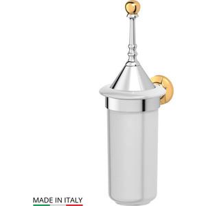Ерш настенный 3SC Stilmar хром/золото (STI 124) зеркало косметическое 3sc stilmar матовое золото sti 320