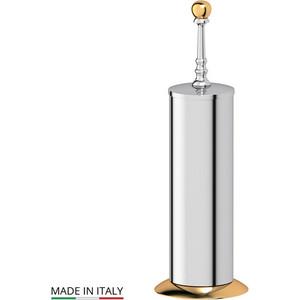 Ерш металлический напольный 3SC Stilmar UN хром/золото (STI 130) туалетный ерш с крышкой напольный 3sc stilmar sti 530