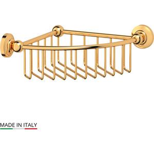 Полочка-решетка угловая 23 см 3SC Stilmar золото (STI 208) зеркало косметическое 3sc stilmar матовое золото sti 320