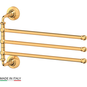 Держатель полотенец поворотный тройной 35 см 3SC Stilmar золото (STI 211) держатель полотенец поворотный тройной 35 cm 3sc stilmar sti 311
