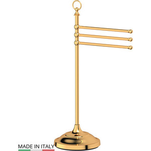 Стойка с держателем полотенец 3SC Stilmar UN золото (STI 231)