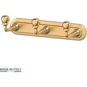 Планка с тремя крючками 3SC Stilmar матовое золото (STI 302)