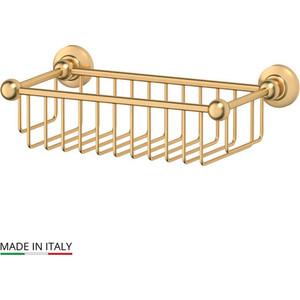 Полочка-решетка 31 см 3SC Stilmar матовое золото (STI 307)