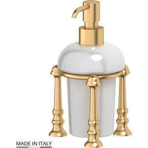 Емкость для жидкого мыла настольная 3SC Stilmar UN матовое золото (STI 329)