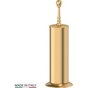 Ерш металлический напольный 3SC Stilmar UN матовое золото (STI 330) туалетный ерш с крышкой напольный 3sc stilmar sti 530