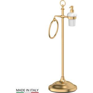 Стойка комбинированная для биде 3SC Stilmar UN матовое золото (STI 332) стойка комбинированная для туалета 3sc stilmar un хром sti 034