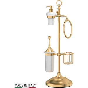 Стойка комбинированная для биде и туалета 3SC Stilmar UN матовое золото (STI 335) стойка комбинированная для биде 3sc stilmar un античная бронза sti 532