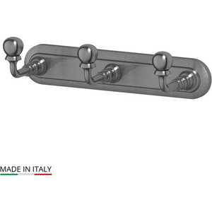Планка с тремя крючками 3SC Stilmar античное серебро (STI 402)
