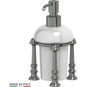 Фотография товара емкость для жидкого мыла настольная 3SC Stilmar UN античное серебро (STI 429) (569700)
