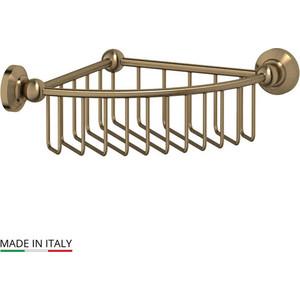 Полочка-решетка угловая 23 см 3SC Stilmar античная бронза (STI 508) держатель полотенца 40 см 3sc stilmar античная медь sti 612