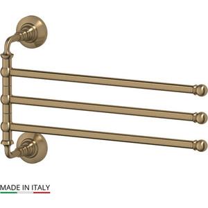 Фотография товара держатель полотенец поворотный тройной 35 см 3SC Stilmar античная бронза (STI 511) (569717)