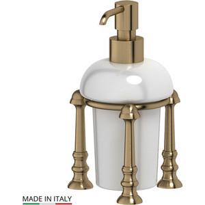 Емкость для жидкого мыла настольная 3SC Stilmar UN античная бронза (STI 529) мыльница настольная 3sc stilmar un античная медь sti 628