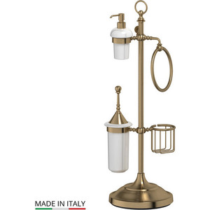 Стойка комбинированная для биде и туалета 3SC Stilmar UN античная бронза (STI 535) стойка комбинированная для туалета 3sc stilmar un хром sti 034