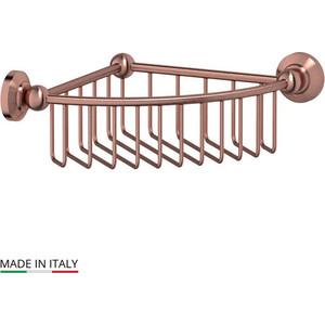 Полочка-решетка угловая 23 см 3SC Stilmar античная медь (STI 608) полочка решетка 31 см 3sc stilmar хром sti 007