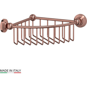 Полочка-решетка угловая 23 см 3SC Stilmar античная медь (STI 608)
