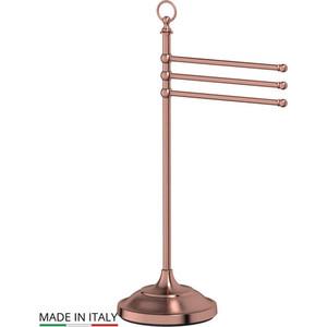 Стойка с держателем полотенец 3SC Stilmar UN античная медь (STI 631) мыльница настольная 3sc stilmar un античная медь sti 628