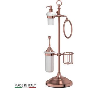 Стойка комбинированная для биде и туалета 3SC Stilmar UN античная медь (STI 635) стойка комбинированная для туалета 3sc stilmar un хром sti 034