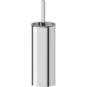 Туалетный ерш с крышкой напольный Defesto Pro хром (DEF 001)