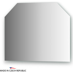 Зеркало FBS Prima 60х50 см, со шлифованной кромкой, вертикальное или горизонтальное (CZ 0118) зеркало fbs regular 130х75 см c полированной кромкой cz 0216