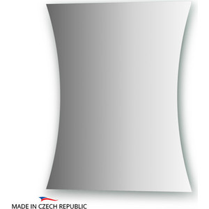 Зеркало FBS Prima 50/40х60 см, со шлифованной кромкой, вертикальное или горизонтальное (CZ 0142) зеркало fbs prima cz 0147 60х150 см