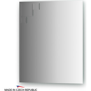Зеркало FBS Decora 50x60 см, с фацетом 10 мм, вертикальное или горизонтальное (CZ 0810) аксессуары sonance vc60s decora white