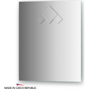 Зеркало FBS Decora 50x60 см, с фацетом 10 мм, вертикальное или горизонтальное (CZ 0818) аксессуары sonance vc60s decora white
