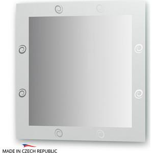 Зеркало FBS Artistica 70х70 см, с орнаментом - галактика, вертикальное или горизонтальное (CZ 0708) зеркало fbs artistica d60 см с орнаментом луксор вертикальное или горизонтальное cz 0750