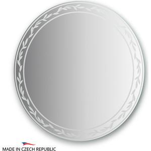 Зеркало FBS Artistica D80 см, с орнаментом - ива, вертикальное или горизонтальное (CZ 0725) зеркало fbs artistica 60х60 см с орнаментом осока вертикальное или горизонтальное cz 0746