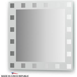 Зеркало FBS Artistica 60х60 см, с орнаментом - квадро, вертикальное или горизонтальное (CZ 0737) зеркало fbs artistica 60х60 см с орнаментом осока вертикальное или горизонтальное cz 0746