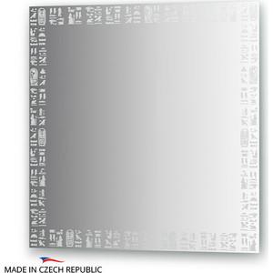 Зеркало FBS Artistica 70х70 см, с орнаментом - луксор, вертикальное или горизонтальное (CZ 0755) 1pc used fatek pm fbs 14mc plc
