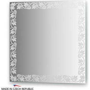 все цены на Зеркало FBS Artistica 70х70 см, с орнаментом - лоза, вертикальное или горизонтальное (CZ 0762) онлайн