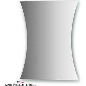 Зеркало FBS Practica 40/30х50 см, с частичным фацетом 10 мм, вертикальное или горизонтальное (CZ 0456) зеркало fbs practica cz 0441