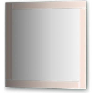 Зеркало поворотное Evoform Style 70х70 см, с зеркальным обрамлением (BY 0821) зеркало evoform style 60х60 см с зеркальным обрамлением by 0805