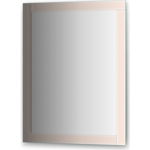 Зеркало поворотное Evoform Style 70х90 см, с зеркальным обрамлением (BY 0822) зеркало evoform style by 0807