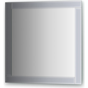 Зеркало поворотное Evoform Style 70х70 см, с зеркальным обрамлением (BY 0833) зеркало evoform style 70х70 см с зеркальным обрамлением by 0809