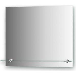 Зеркало Evoform Attractive 60х50 см, с фацетом 5 мм и полочкой 60 см (BY 0514)
