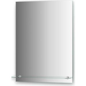 Зеркало Evoform Attractive 60х80 см, с фацетом 5 мм и полочкой 60 см (BY 0506) зеркало evoform optima 60х50 см с полочкой 60 см by 0517