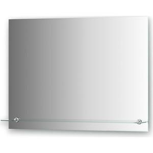 Зеркало Evoform Attractive 80х60 см, с фацетом 5 мм и полочкой 80 см (BY 0516)
