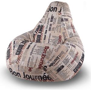 Кресло мешок Пуфофф Newspaper XL