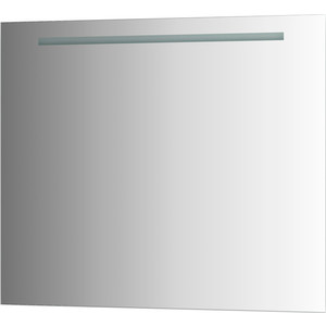 Зеркало Evoform Lumline 90х75 см, со встроенным LUM- светильником 30 W (BY 2006) evoform зеркало evoform lumline с 2 мя встроенными lum светильниками 120х3х75 см 9d qc4xt