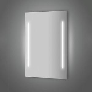 Зеркало Evoform Lumline 50х75 см, с 2-мя встроенными LUM- светильниками 40 W (BY 2013) зеркало evoform ledline 130х75 см с 3 мя встроенными led светильниками 16 w by 2122