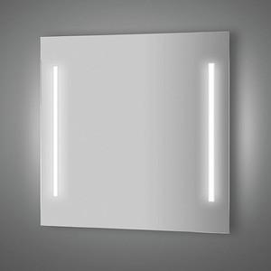 Зеркало Evoform Lumline 80х75 см, с 2-мя встроенными LUM- светильниками 40 W (BY 2017) зеркало evoform ledline 130х75 см с 3 мя встроенными led светильниками 16 w by 2122