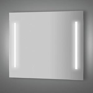 Зеркало Evoform Lumline 90х75 см, с 2-мя встроенными LUM- светильниками 40 W (BY 2018) зеркало evoform ledline 130х75 см с 3 мя встроенными led светильниками 16 w by 2122