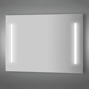 Зеркало Evoform Lumline 120х75 см, с 2-мя встроенными LUM- светильниками 40 W (BY 2020) зеркало evoform ledline 130х75 см с 3 мя встроенными led светильниками 16 w by 2122