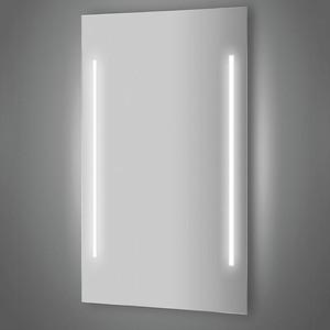 Зеркало Evoform Lumline 60х100 см, с 2-мя встроенными LUM- светильниками 60 W (BY 2023) зеркало evoform ledline 130х75 см с 3 мя встроенными led светильниками 16 w by 2122