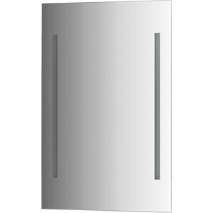 Зеркало Evoform Ledline 50х75 см, с 2-мя встроенными LED- светильниками 10,5 W (BY 2113) зеркало evoform ledline by 2121 120х75 см