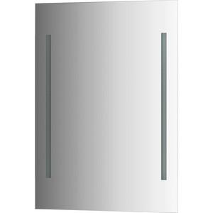 Зеркало Evoform Ledline 55х75 см, с 2-мя встроенными LED- светильниками 10,5 W (BY 2114) зеркало ellux linea led 100х70 см с 2 м встроенными led светильниками 12 w lin b2 9310