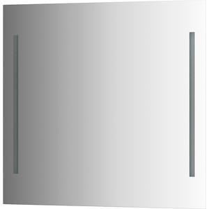 Зеркало Evoform Ledline 80х75 см, с 2-мя встроенными LED- светильниками 10,5 W (BY 2117) зеркало ellux linea led 100х70 см с 2 м встроенными led светильниками 12 w lin b2 9310